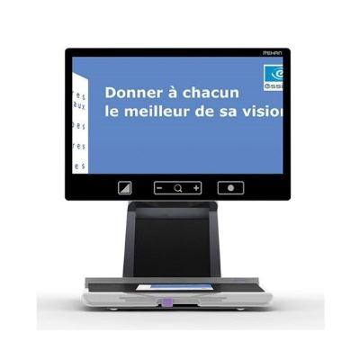 "Télé-agrandisseur ACUITY 22"" Speech"