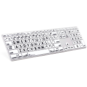 Clavier Alu Anodisé Large Print MAC Advance Line